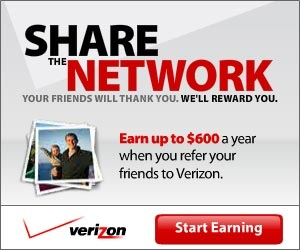With the Refer a Friend program, you AND your friends can earn a Prepaid Mastercard® to use where you want, when you want. The Refer a Friend program is just one of the many ways that Verizon provides customers with a little