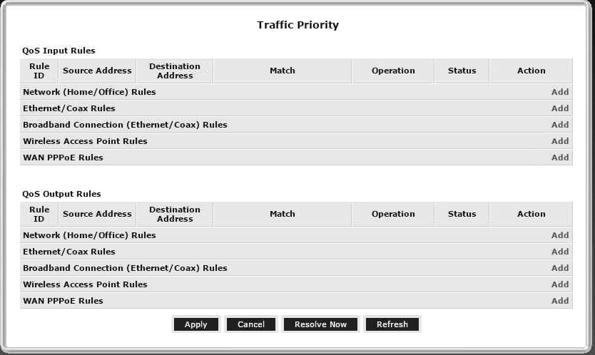 Need help configuring Verizon router for VoiP QoS traffic