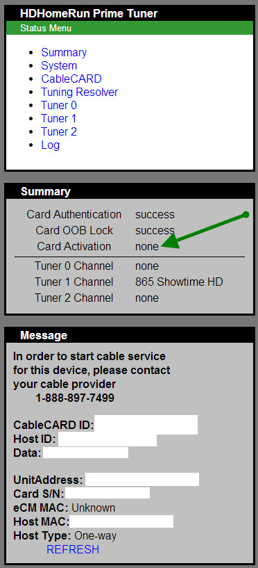 Siliconedust HDHomeRun Prime issue with HBO - Verizon Fios