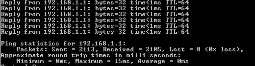 Packet Loss issue , 5% packet Loss , Ethernet Cable !!!! no