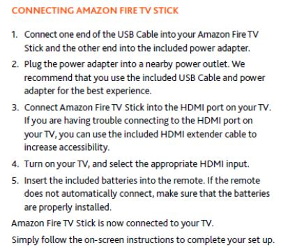 Solved: Select HDMI: Amazon Fire TV Stick - Verizon Fios Community