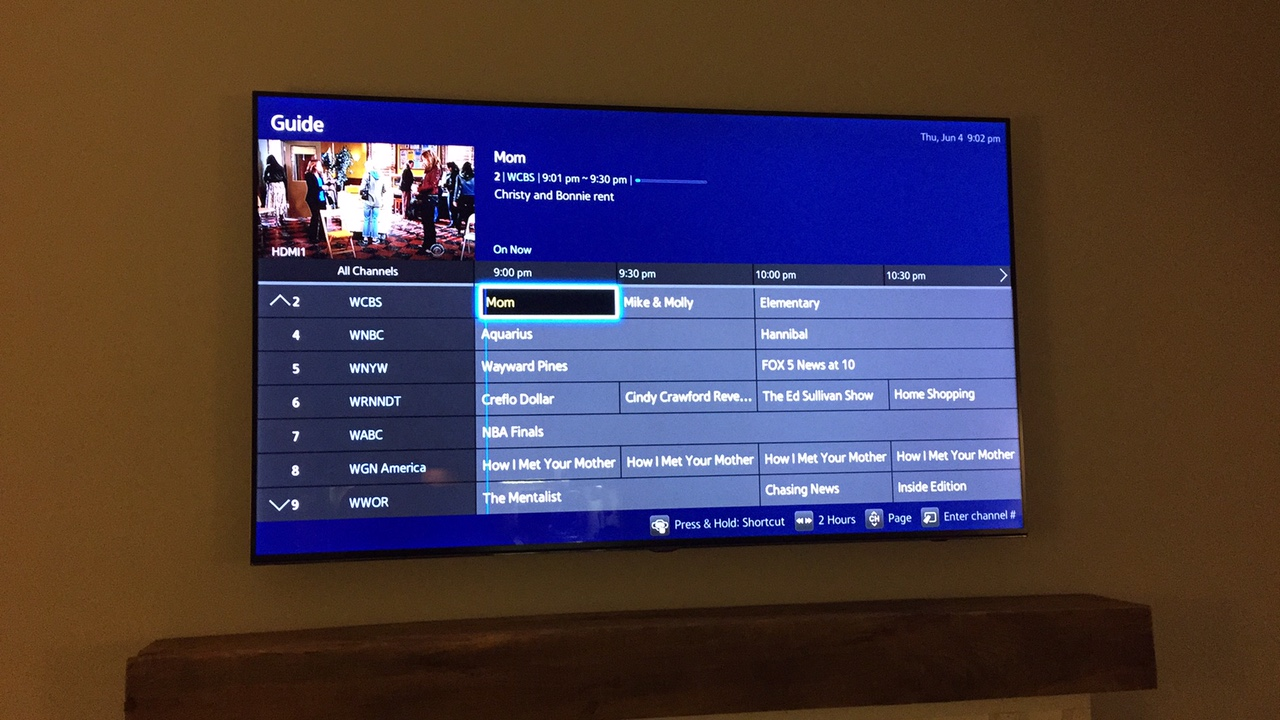 Samsung tv guide not updating