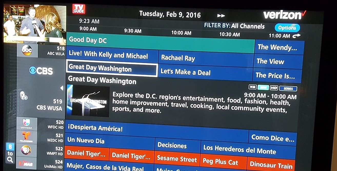 solved extra line on guide verizon fios community rh forums verizon com verizon fios tv guide philadelphia verizon fios tv guide schedule