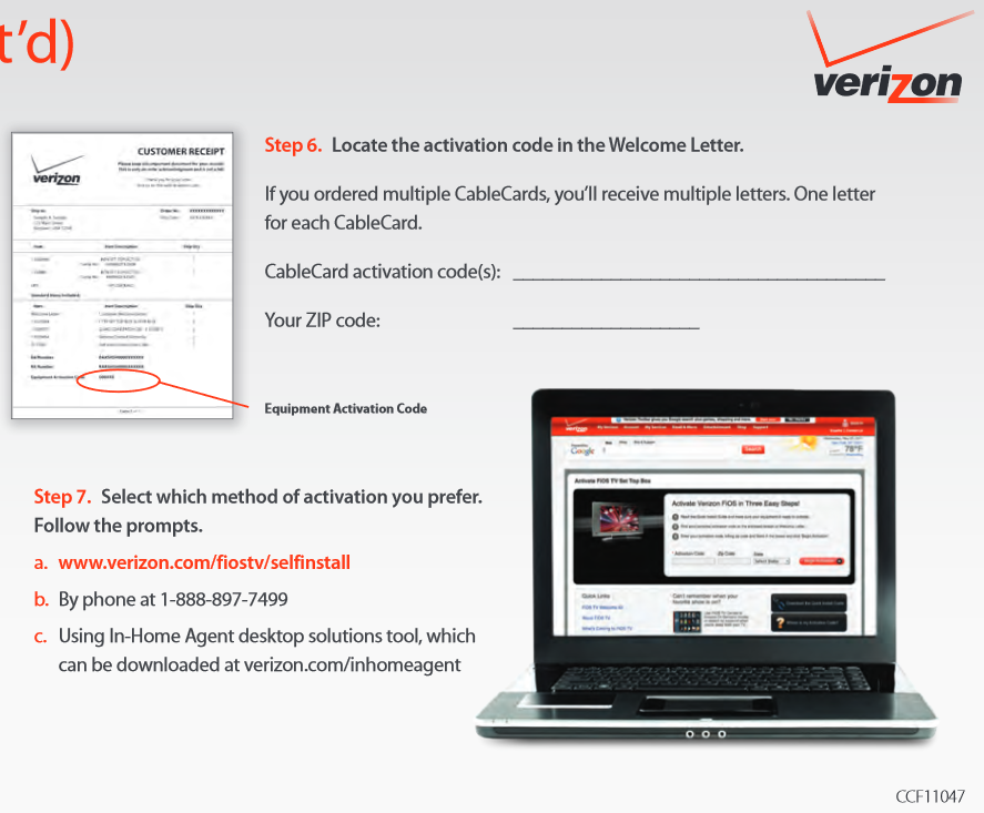 Ordering and Activating a CableCard for Verizon FiOS - Verizon Fios