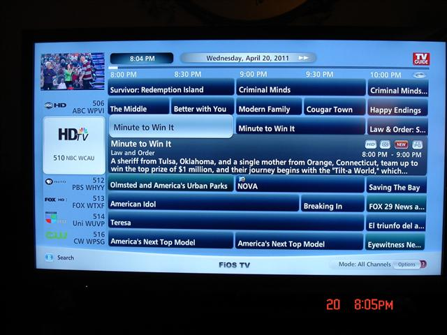 new programming guide is awful so is almost everythign else about rh forums verizon com verizon fios tv guide schedule verizon fios tv guide and channel listing