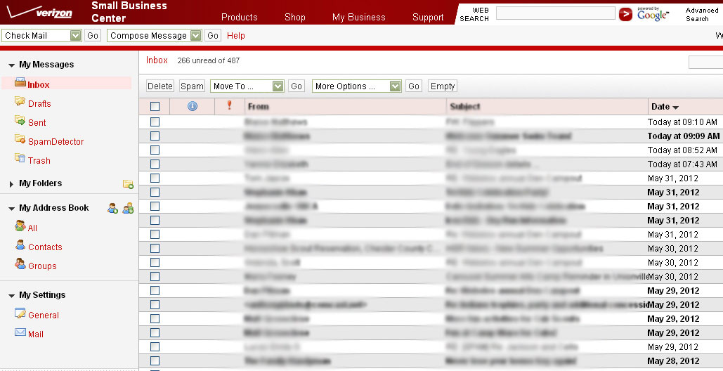 Rich Internet Webmail gone - Verizon Fios Community