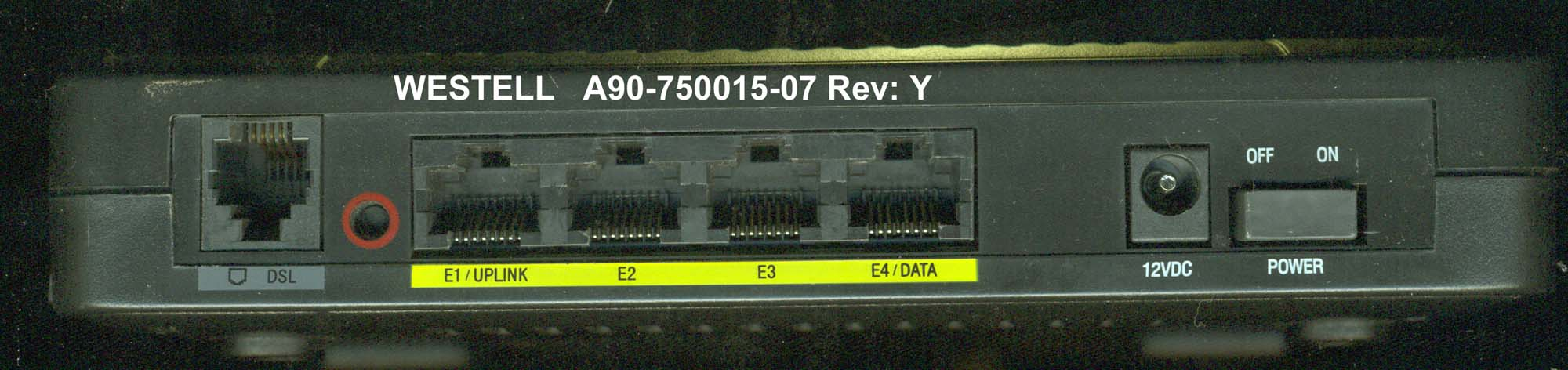 Solved: Westell A90-750015-07 as a wireless router w/o use ...